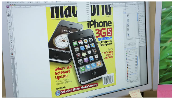 Macworld Cover Workflow